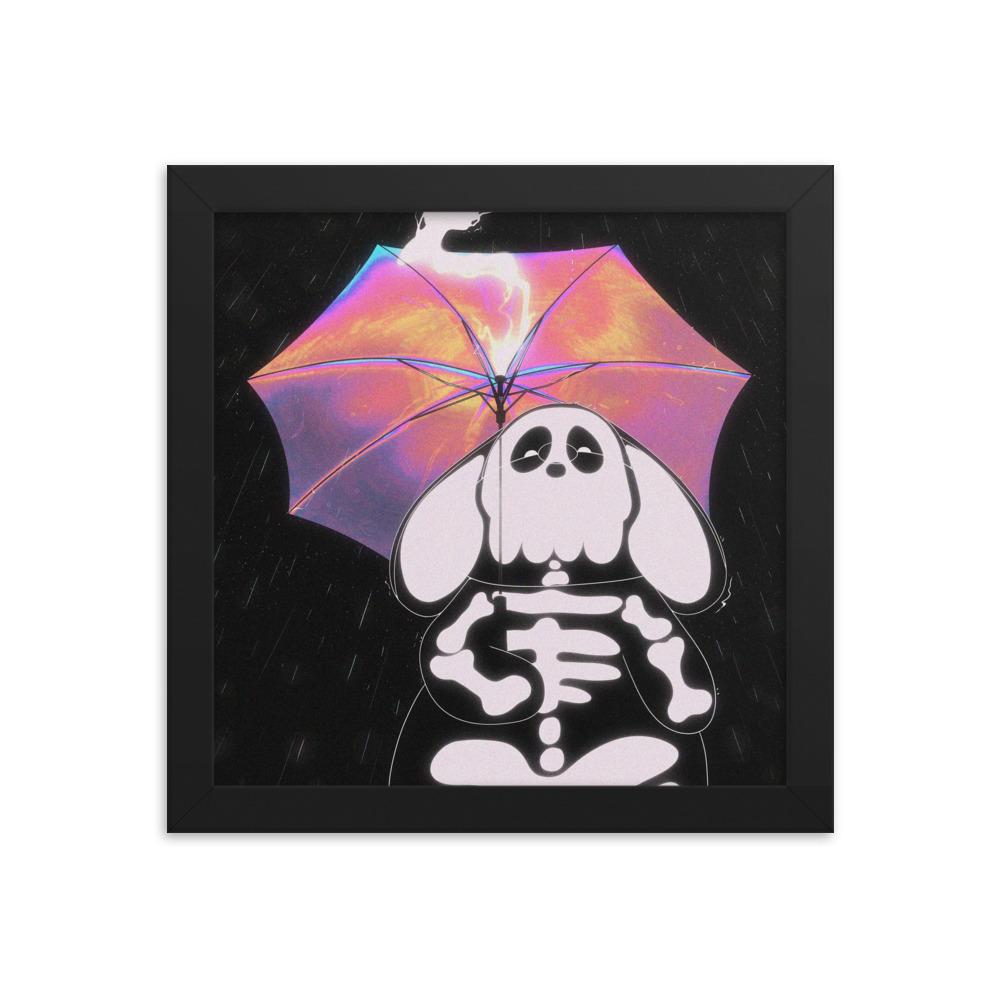 Enhanced Matte Paper Framed Poster In Black 10x10 Transparent 60465415d466a