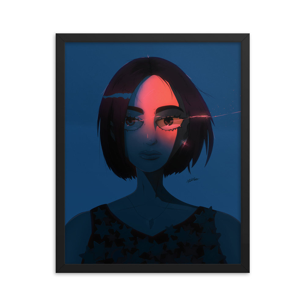 Enhanced Matte Paper Framed Poster In Black 16x20 Transparent 604647bec4ee5