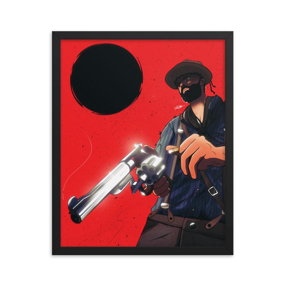 Enhanced Matte Paper Framed Poster In Black 16x20 Transparent 60464cf05b44e
