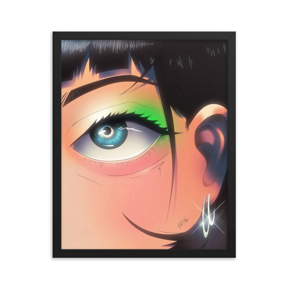 Enhanced Matte Paper Framed Poster In Black 16x20 Transparent 604662d9107f6