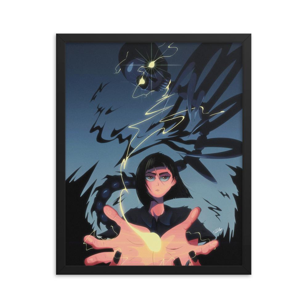 Enhanced Matte Paper Framed Poster In Black 16x20 Transparent 604665dbf0893