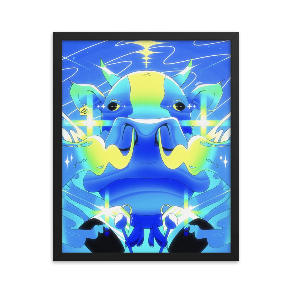 Enhanced Matte Paper Framed Poster In Black 16x20 Transparent 604762c490b11