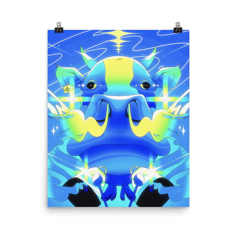 Enhanced Matte Paper Poster In 16x20 Transparent 604764059eb96