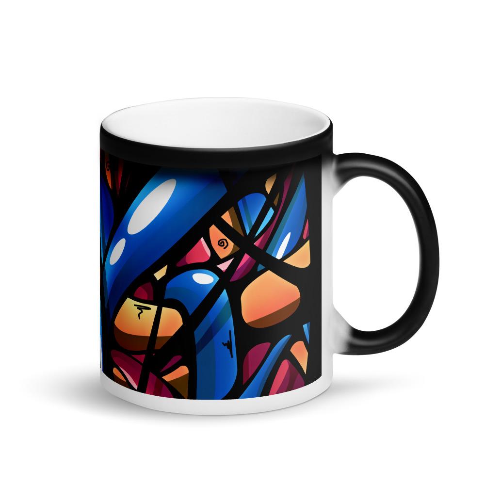Matte Black Magic Mug Black Handle On Right 60435c8588e4f