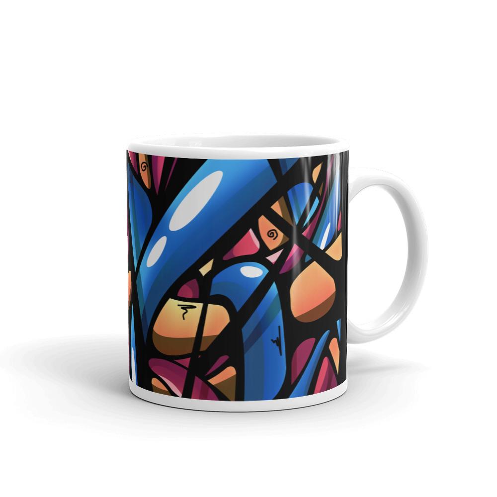 White Glossy Mug 11oz Handle On Right 60435f17b1655