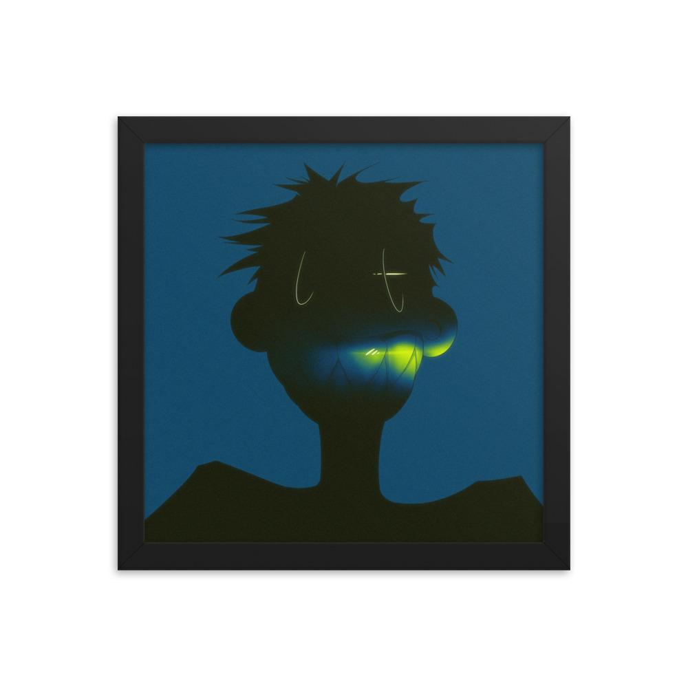 Enhanced Matte Paper Framed Poster In Black 12x12 Transparent 60a9459314d71