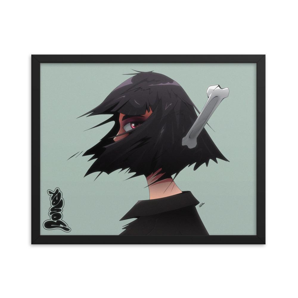 Enhanced Matte Paper Framed Poster In Black 16x20 Transparent 60a4f4714dde8