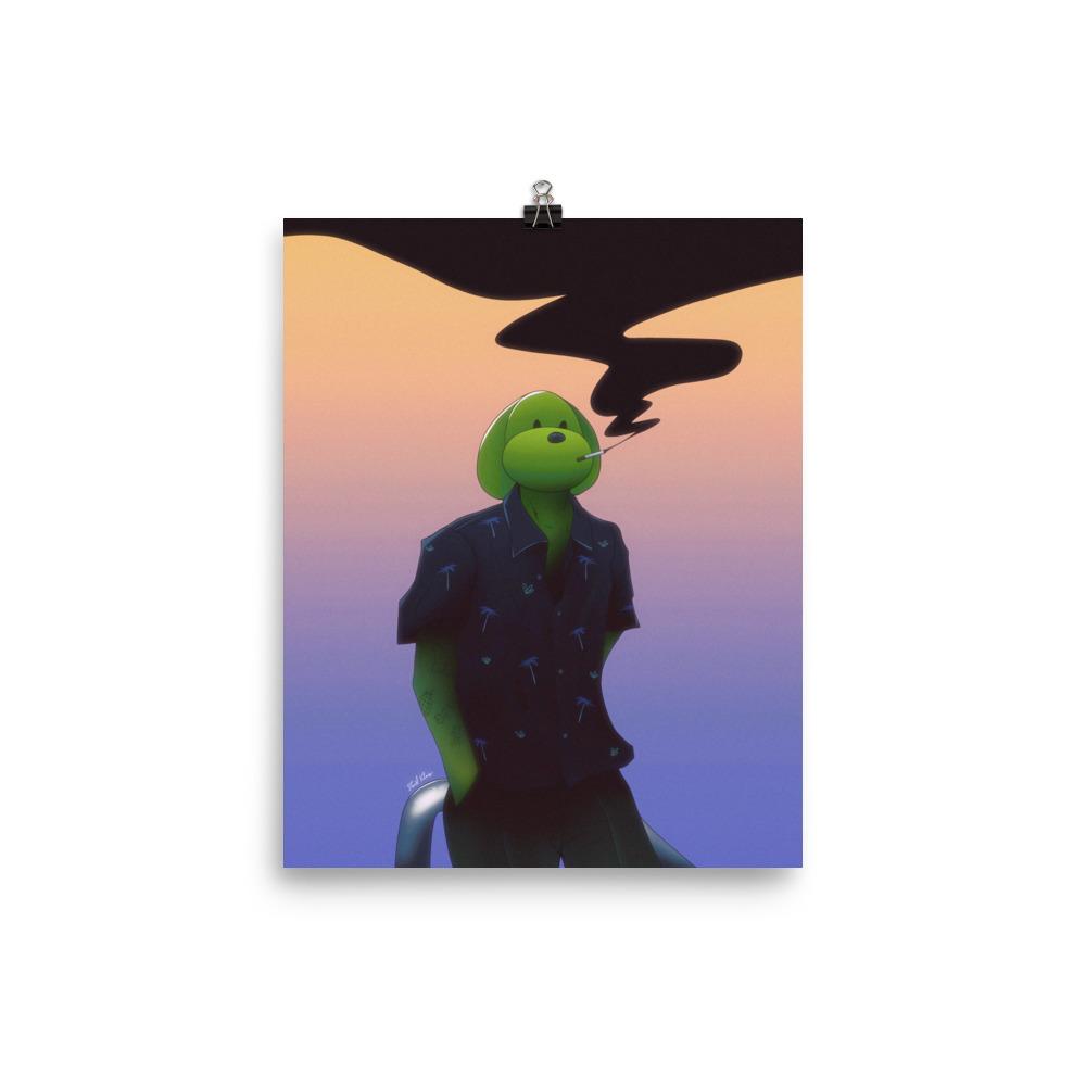 Enhanced Matte Paper Poster In 8x10 Transparent 6096fc5265592